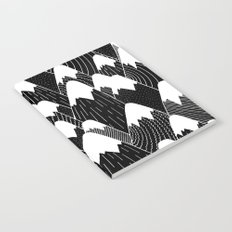 Snow Tops Pattern Notebook