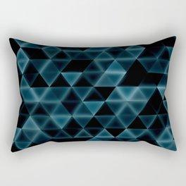 glowingtri Rectangular Pillow