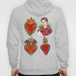 Sacred Hearts and Frida Hoody