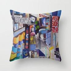 Broadway Throw Pillow