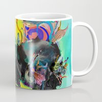 archan nair Mugs featuring Mixed Signals by Archan Nair