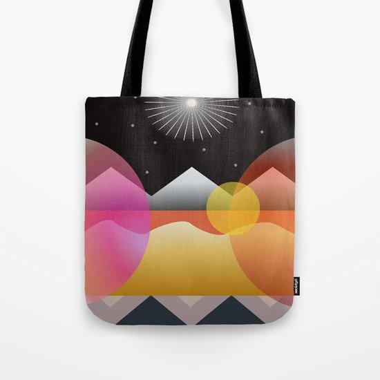 Solar Flares Tote Bag