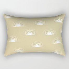 sun pattern Rectangular Pillow