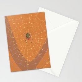 Marbled Orbweaver Spider Stationery Cards