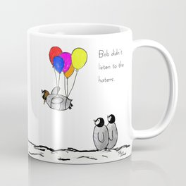 To be a Flying Penguin Kaffeebecher