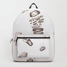 Falling Food Backpack