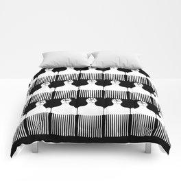I pick my afro - (black) Comforters