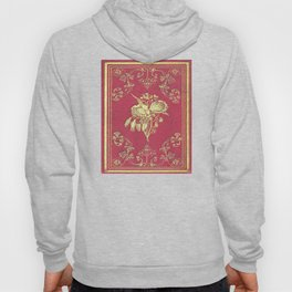 Wine and Roses Book Cover Hoody