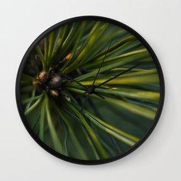 The Pine Wall Clock