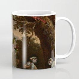 Melchior d'Hondecoeter, The menagerie (1690) Coffee Mug