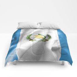 Guatemala Flag Comforters