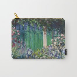Monet's Door — Giverny, France Carry-All Pouch