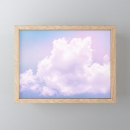Fantasy cotton candy Framed Mini Art Print
