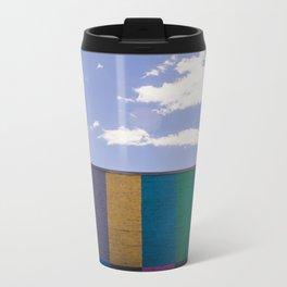 Colored Wall Metal Travel Mug