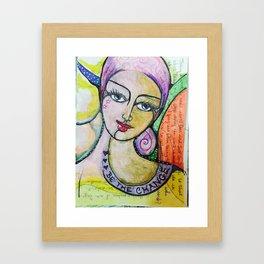 Be the Change Framed Art Print