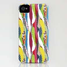 Patchwork pattern iPhone (4, 4s) Slim Case
