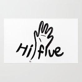 hi five Rug