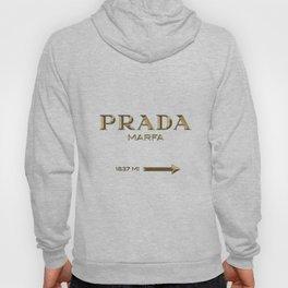 Golden PradaMarfa sign Hoody