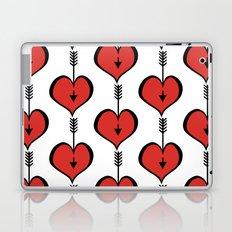 Loving You red hearts Laptop & iPad Skin