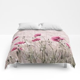 Poppy Pastell Pink Comforters