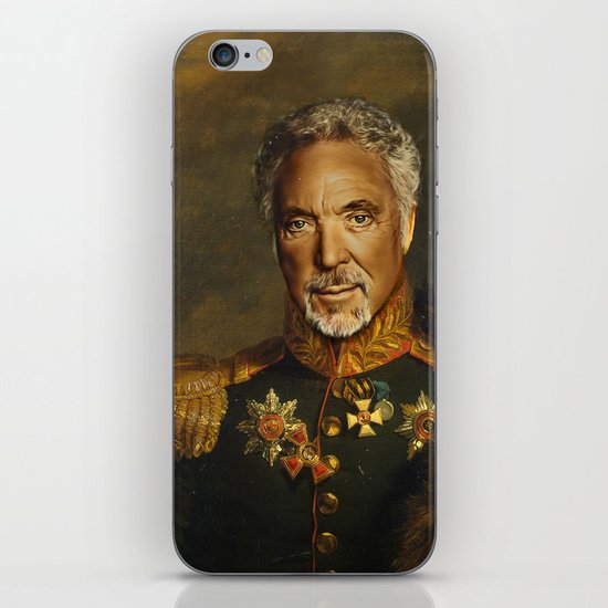 Sir Tom Jones - replaceface iPhone & iPod Skin