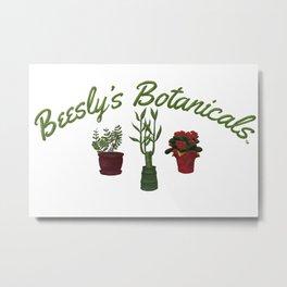Beesly's Botanicals Metal Print