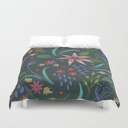 flower fantasy Duvet Cover