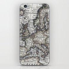 Old World Map iPhone & iPod Skin