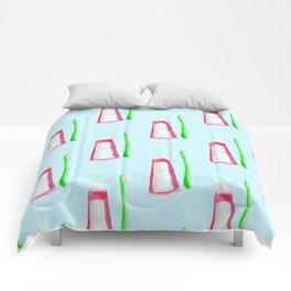 dentist pattern Comforters
