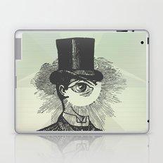 Eyeliner Laptop & iPad Skin