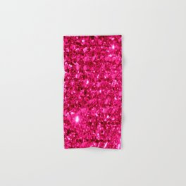 SparklE Hot Pink Hand & Bath Towel