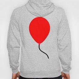 Red Balloon Emoji Hoody