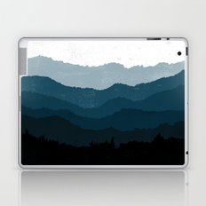Mists No. 6 - Ombre Blue Ridge Mountains Art Print  Laptop & iPad Skin