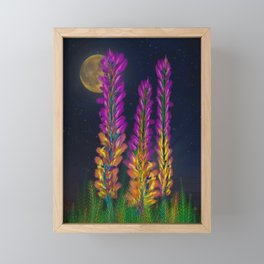 Desert Candle Foxtail Lily Framed Mini Art Print