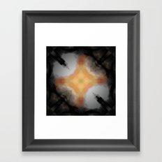 Water Rust Pattern 002 Framed Art Print