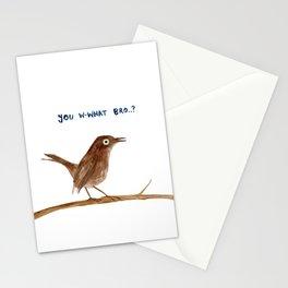 Brown Trembler Stationery Cards