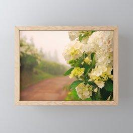 Dirt road Framed Mini Art Print