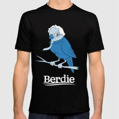 Berdie Sanders SMALL Mens Fitted Tee Black