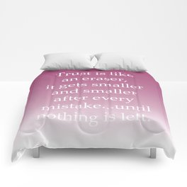 Trust Mistake Comforters