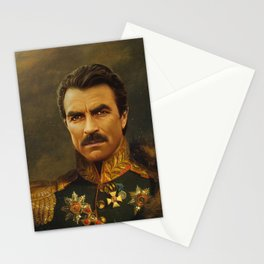Tom Selleck - replaceface Stationery Cards