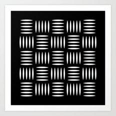 Industrial floor pattern Art Print
