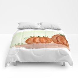 Fall Pumpkins Comforters