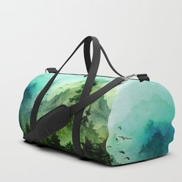 Mountain Morning Duffle Bag