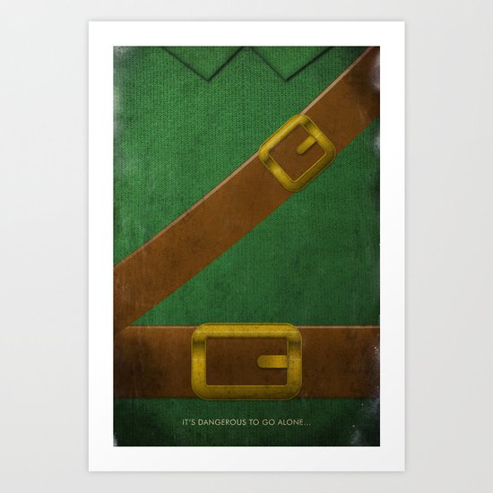 Video Game Poster: Adventurer Art Print