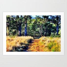 Australian Bush Art Print