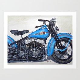 Good ride Art Print