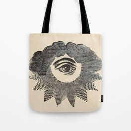 Vintage Magic Eye Tote Bag