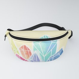 Crystals Yellow Fanny Pack