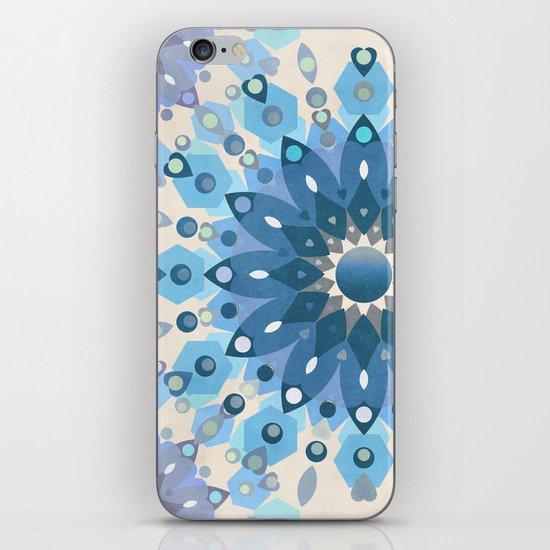 Frozen Mandala Flower iPhone & iPod Skin