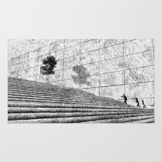 Fingerprint - Stairway Rug